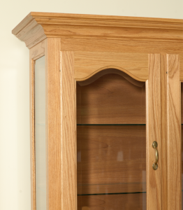 Beveled Cathedral Arch Hutch Door